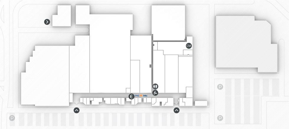 Der Centerplan des Südring Centers Rangsdorf